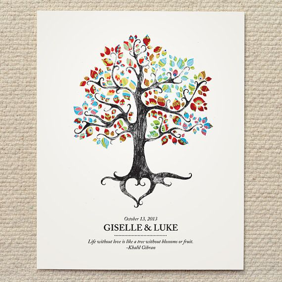 Rustic Woodland Tree Wedding Poster / Sign - DIY Printable PDF Template - wedding, baby, shower, gift, custom, home, nursery, decor