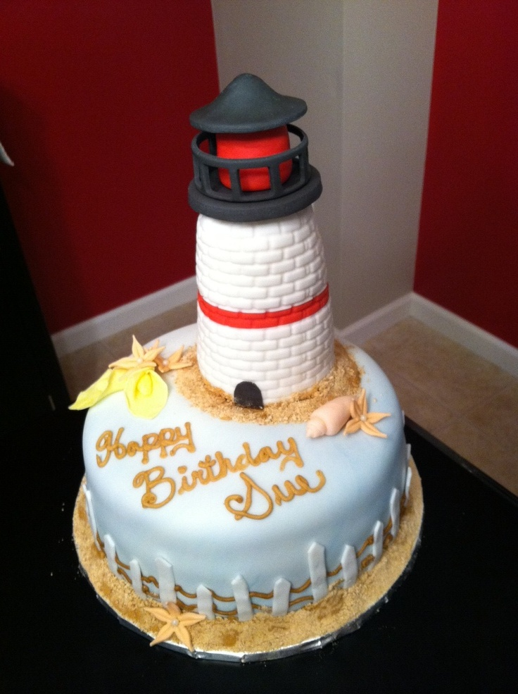 1000 Images About Lighthouse Cakes On Pinterest