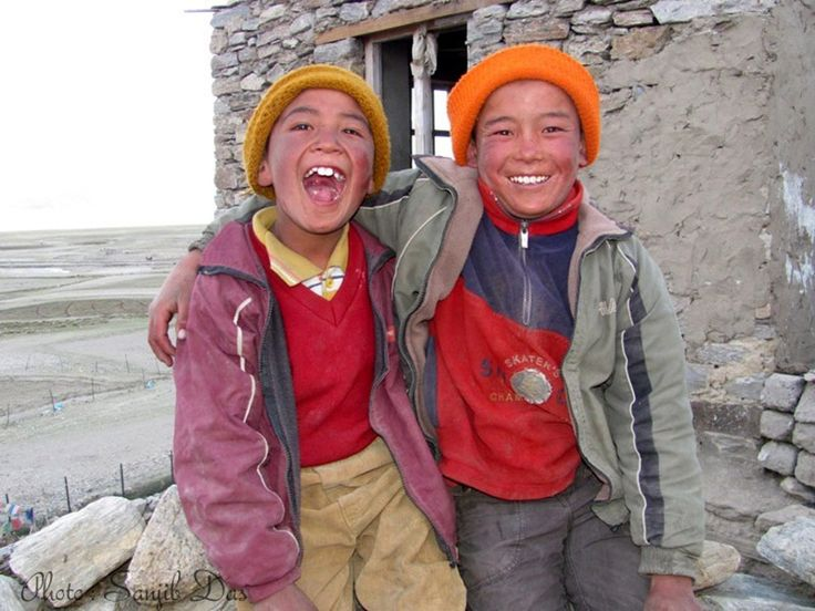 Changpa boy near Korzok Village Album: Ladakh - The Forbidden Wilderness Photo Credit: Sanjib Das