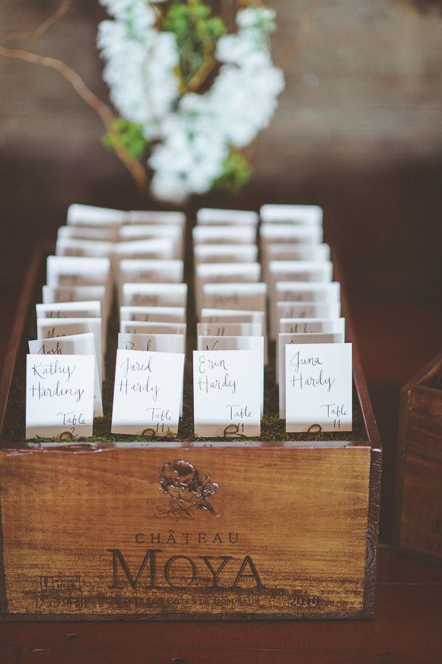 wedding favors ideas do it yourself%0A Outdoor Wedding Bliss  Robin   Andrew u    s Serene Wedding  Placecard IdeasWedding  FavoursOutdoor