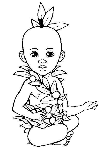 Dessins à colorier kirikou Coloriages pour enfants