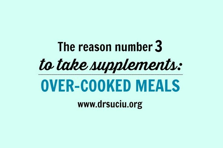 Picture The reason number 3 to take supplements drsuciu