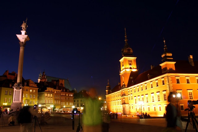 Warsaw by night | MANIA PODRÓŻOWANIA - PHOTO by Joanna Łukasiewicz