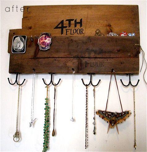 67 best Jewelry holder images on Pinterest Jewellery holder