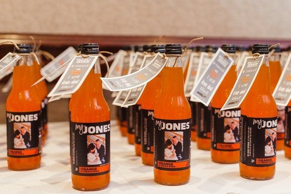 24 Wedding Favor Ideas That Don't Suck SODA! So cute, cheap, and delicious, I'd take it home lol