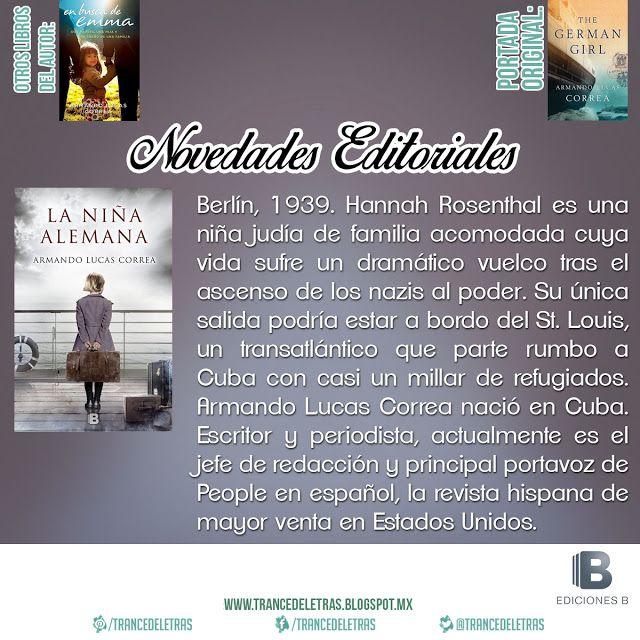 """La Niña Alemana"" de Armando Lucas Correa"