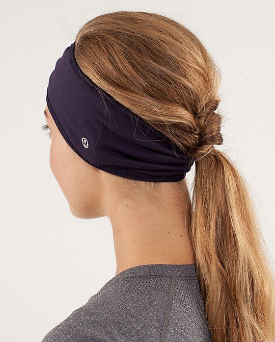 Cute headband for cold running :)    Women's Brisk Run Headband