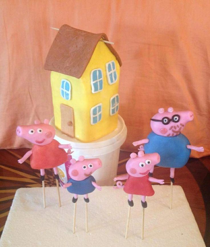 Peppa pig family <3