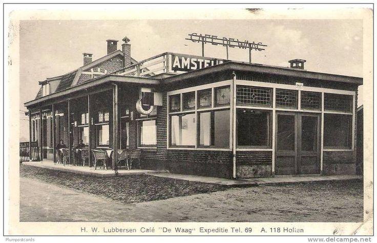 Hotel De Waag nabij het station. Bron: Leven in Holten