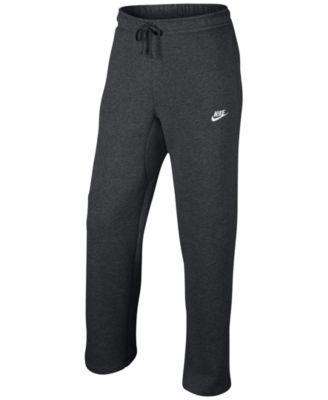 Nike Men's Cargo Pocket Fleece Pants | macys.com