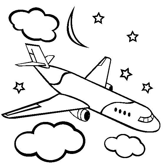 Nice Airplanes Coloring Pages 1 Special Picture