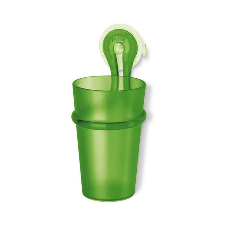 Kubek łazienkowy - Koziol - Loop - zielony