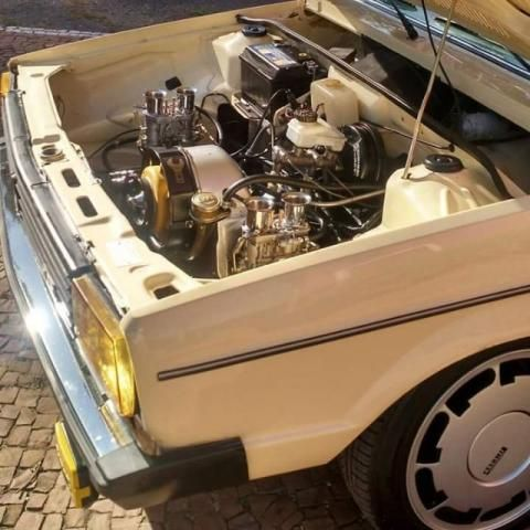 Volkswagen Gol BX - air cooled - VW