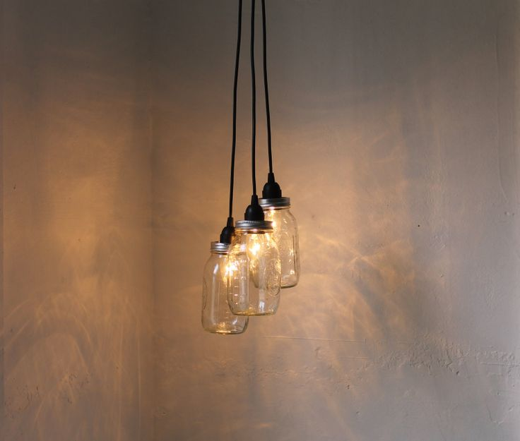 Handcrafted 14 Mason Jar Pendant Light Chandelier W Rustic: 15 Best Create Harmony, Style In Grey Images On Pinterest
