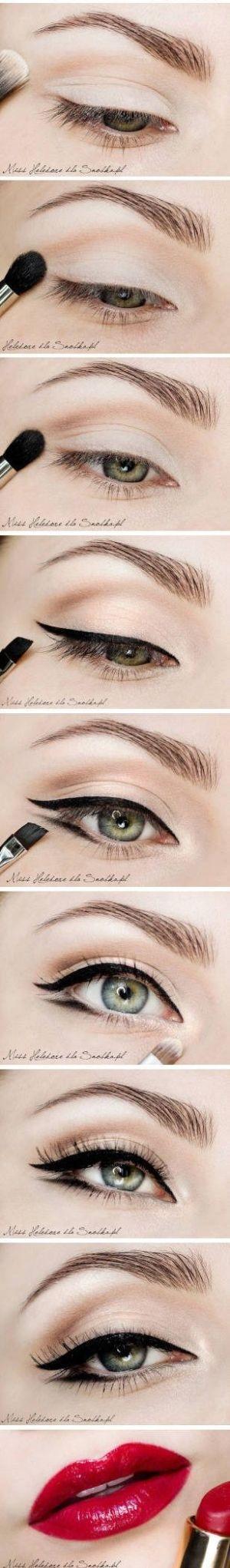 #tutorial #eyeliner by eva.sarneel