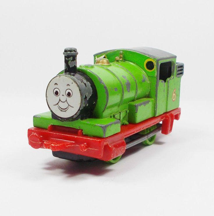 Thomas The Tank Engine - Percy 6 - Die-cast Model Toy Train - Ertl 1984 (1)
