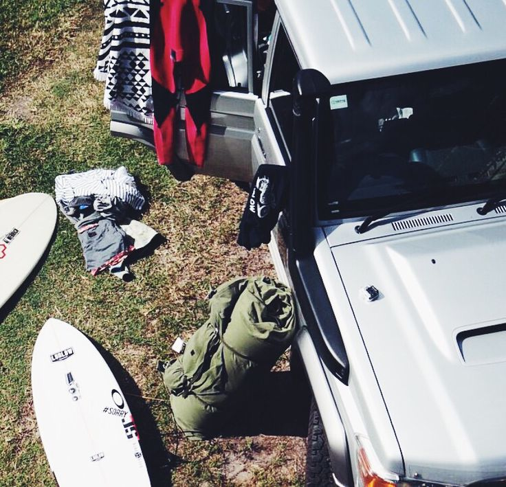 Travel well with Ludlow common, land cruiser, js surfboards, wetsuits. www.ludlowcommon.com