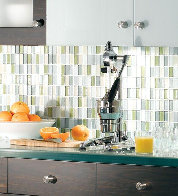 Glass Mosaic Tile Kitchen Backsplash Ideas: 108 Best Images About Kitchen Ideas On Pinterest