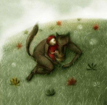 Stefano MorriRiding Hoods, Little Red Riding Hood, Little Red, Red Riding Hood, Small Chaperone, Illustration Galore, Stefano Morris, Stefano Mori, Red Riding Hood
