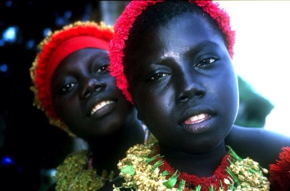 The Jarawa are a 400-strong hunter-gatherer tribe living on India's Andaman Islands. Their ancestors are thought to have been part of the first successful human migrations out of Africa, and arrived on the Andaman Islands up to 55,000 years ago.
