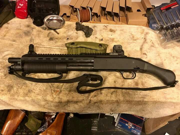 It's the Rhino Rail from Elite Tactical Advantage on a