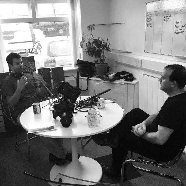 From Our Instagram Account – Recording another Conspicuous podcast episode with special guest @sis_ltd