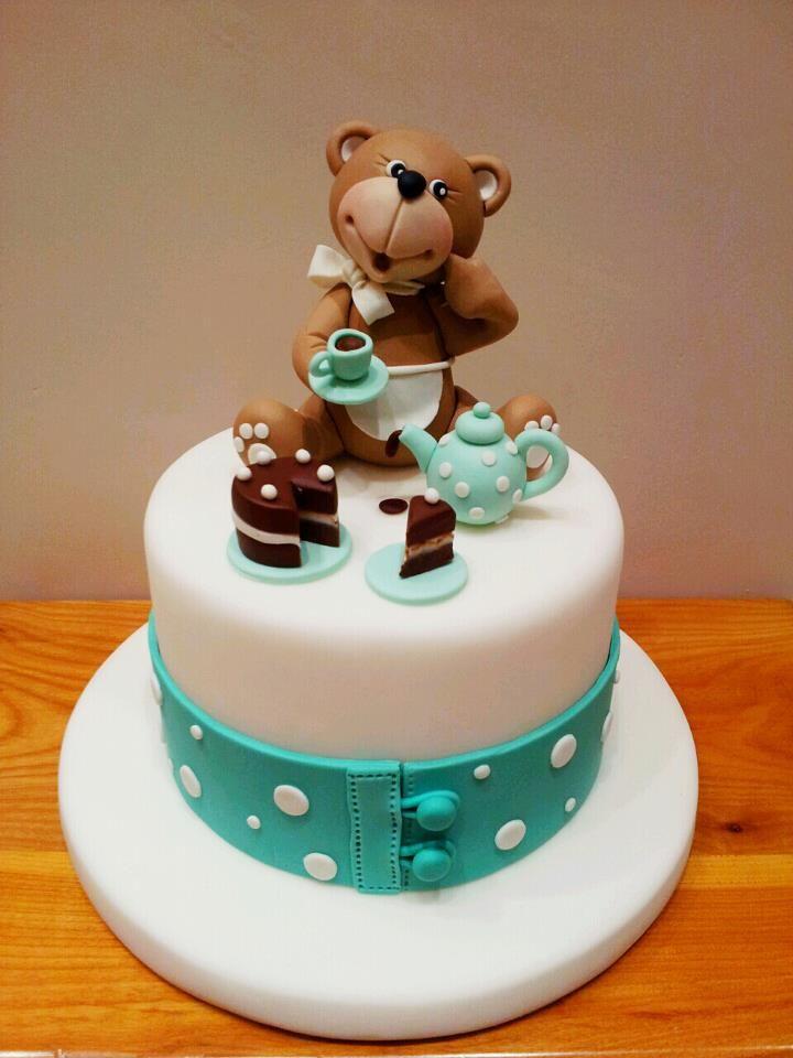 .Teddy cake