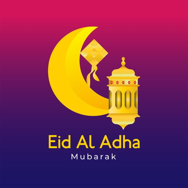 Greeting Card Eid Al Adha Decoration Moon Lantern And Ketupat Moon Clipart Moon Icons Card Icons Png Transparent Clipart Image And Psd File For Free Download Adha Card Eid Al Adha