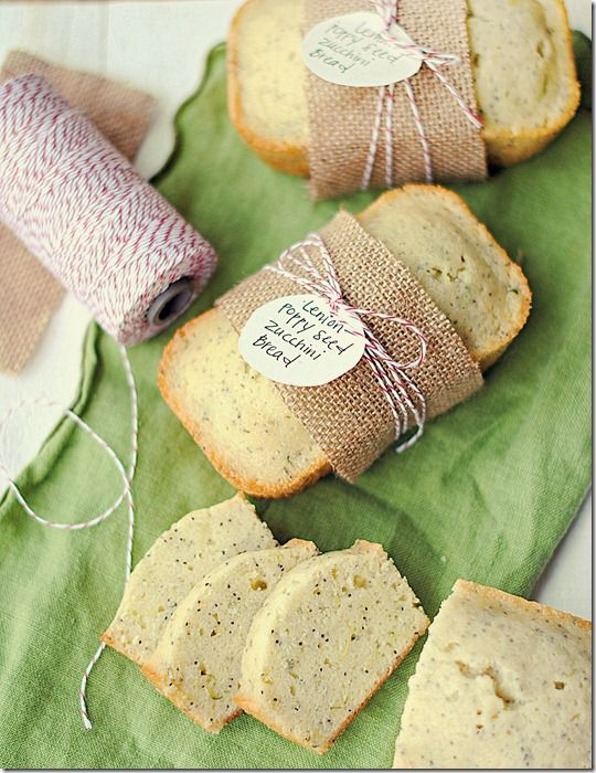 Lemon-Poppy Seed Zucchini Bread, perfect for gifts!