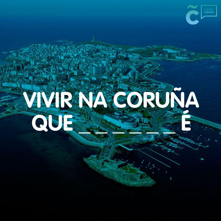Si has estado en #ACoruña, si te has empapado de #ACoruña, sabrás completar este verso #visitacoruña
