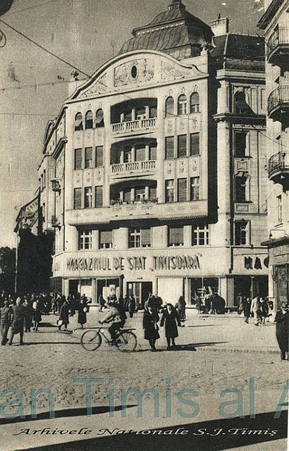 magazinul de stat Timisoara 1949