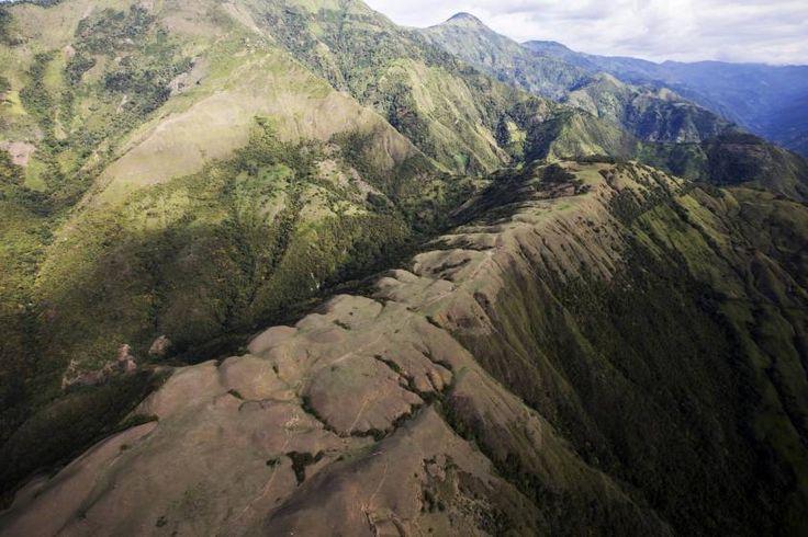 Quemas, deforestación y monocultivos causan erosión en montañas del norte de Antioquia. Foto: Esteban Vanegas