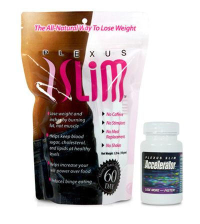 Taken together, Plexus Slim and Accelerator will positively impact and change your life. In addition to losing weight, you will experience more energy and better health. Take control and make a dramatic change in your life today.