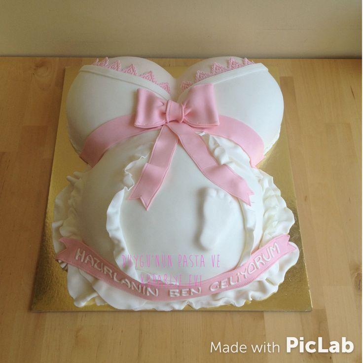 Hamile pasta Baby shower pasta #babyshowerpasta #hamilepasta #babyshowercake #butikpasta