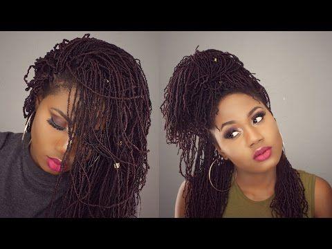 Bobbi boss Micro locs || Sister locs || Crochet Locs (Faux) For Beginners - YouTube