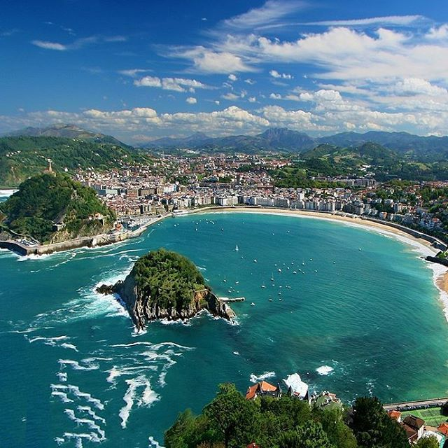 Long Stay Vacations In Spain: 17 Best Ideas About Bay Of Biscay On Pinterest