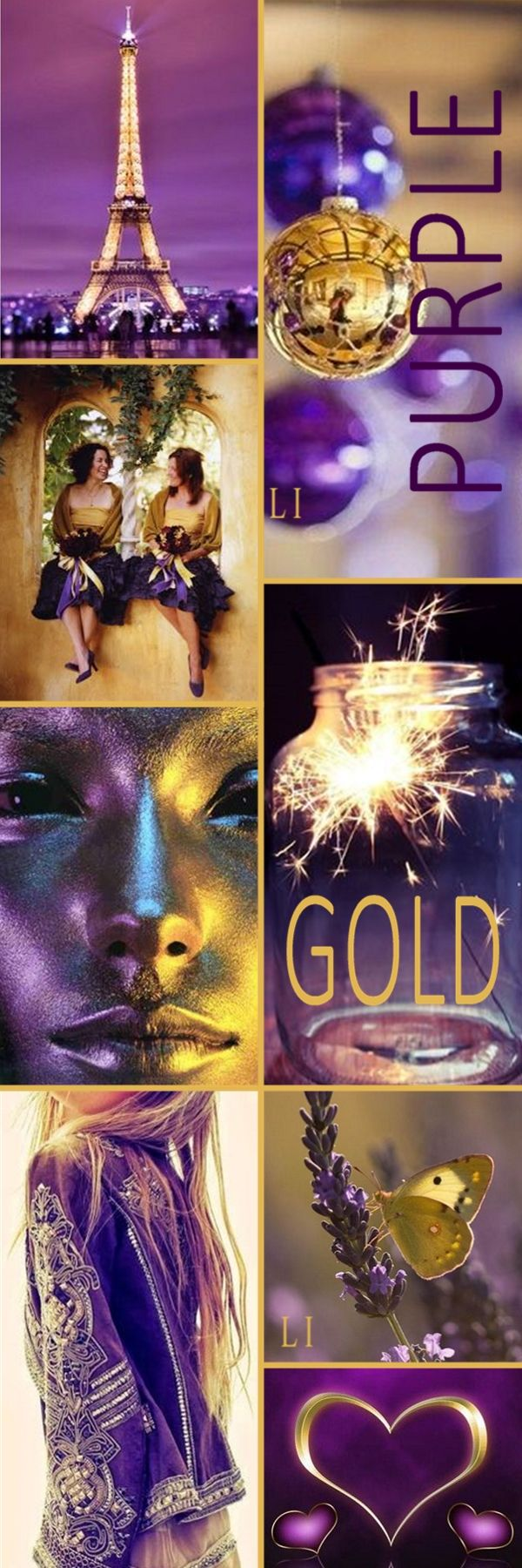 Good evening Ladies, Tonight ( Sept, 17) , Let's pin the combo colors of Purple and Gold. Happy Pinning dear ladies.❤❤