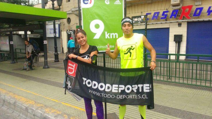 Nuestros profes!  maratón de santiago