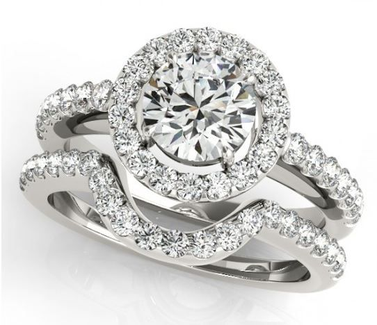 You imagine. We design. Check out Linara's Engagement Ring Collection. Style# 50530-E-A - Halo Engagement Ring Round Cut Diamond.