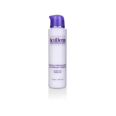 ActiDerm Soothing Cleansing Milk, £10.00   Lifts away make-up and impurities. Helps maintain skin's perfect moisture balance for optimum comfort and radiance. Leaves skin feeling soft, supple and refreshed. The pleasure of a clear, smooth, moisturised and comfortable skin.