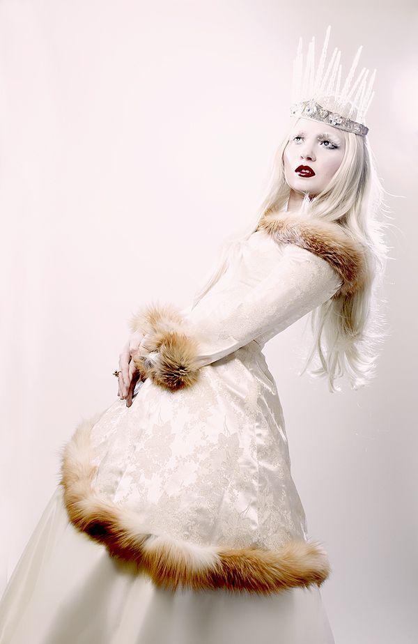 Ice Queen   Ice Queen Editorial in Harlow Magazine   Doe Deere Blogazine