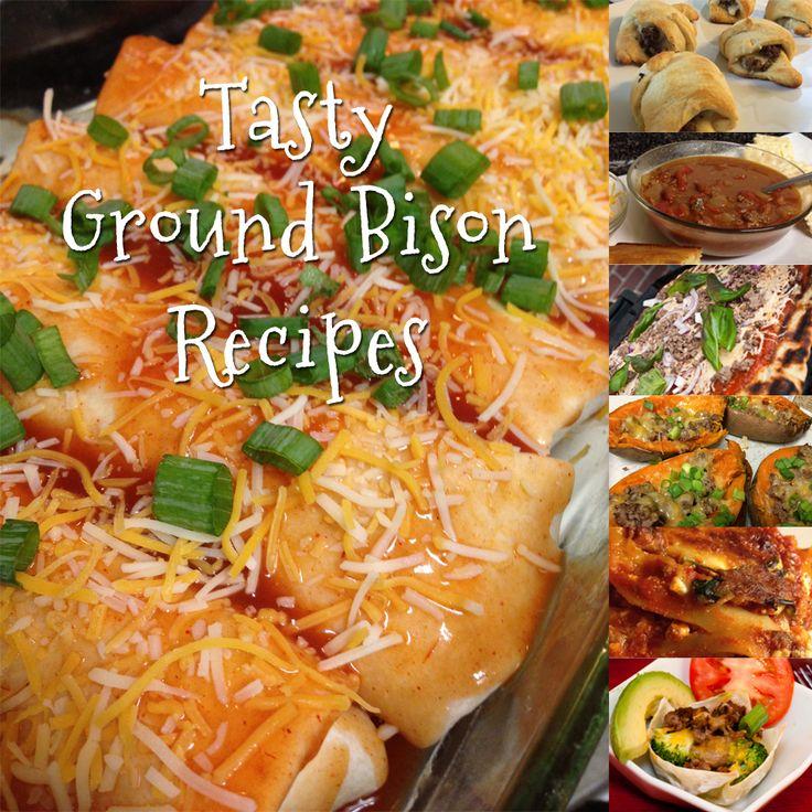 7 More Recipes for Ground Bison   Bison Burger Month Inspiration   The Bison…