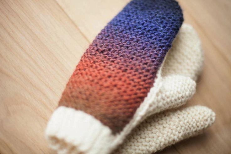Lawina mittens. Handmade in Poland. https://www.facebook.com/lawinaknit/