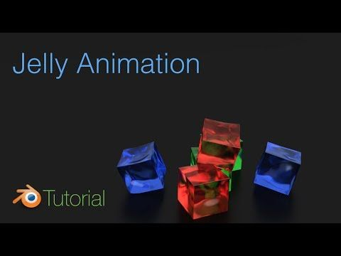 Jelly (soft body) Animation Tutorial in Blender (Cycles) - YouTube