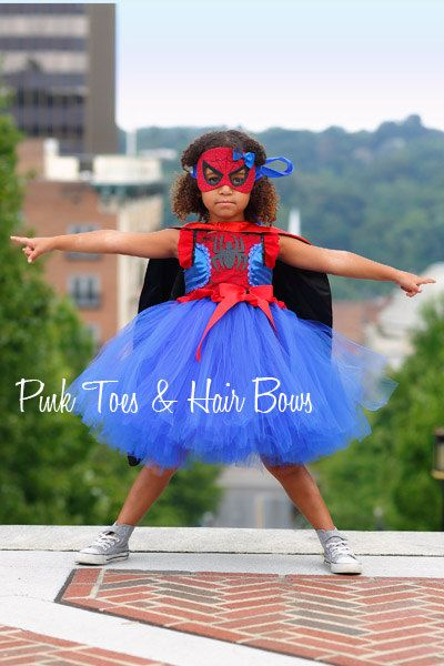 Hey, I found this really awesome Etsy listing at https://www.etsy.com/listing/245759350/spider-girl-costume-spider-girl-tutu