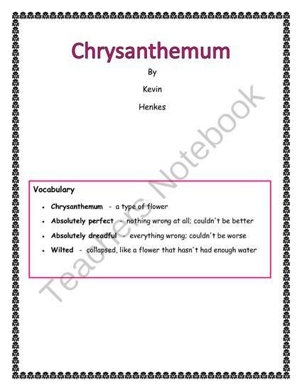 Chrysanthemum - Kevin Henkes - Download Free ebook
