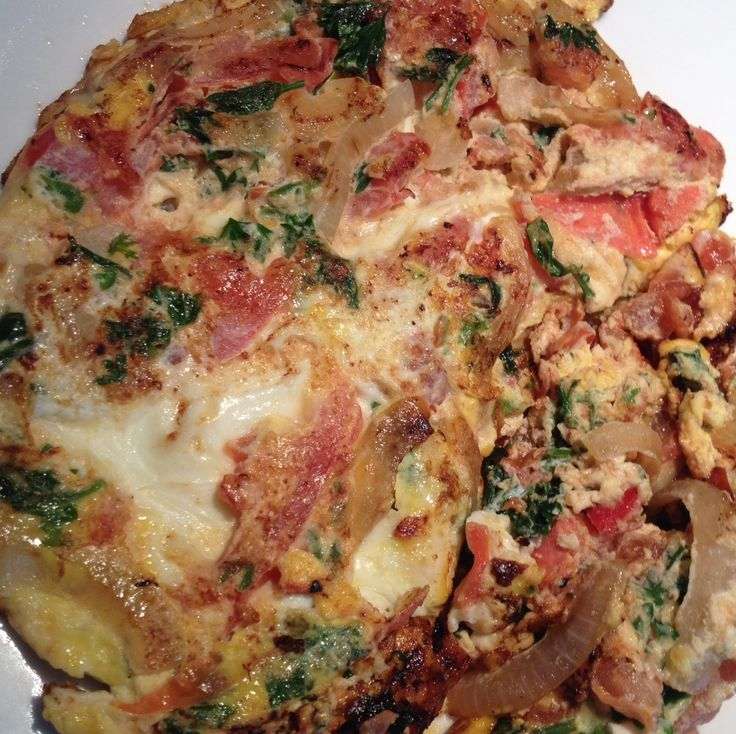 Tomato and onion omelette with parsley | Kitchen Scientist ...