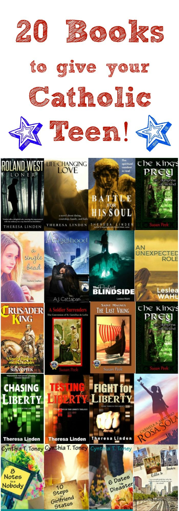 20 books to give your #Catholic teen! #amreading
