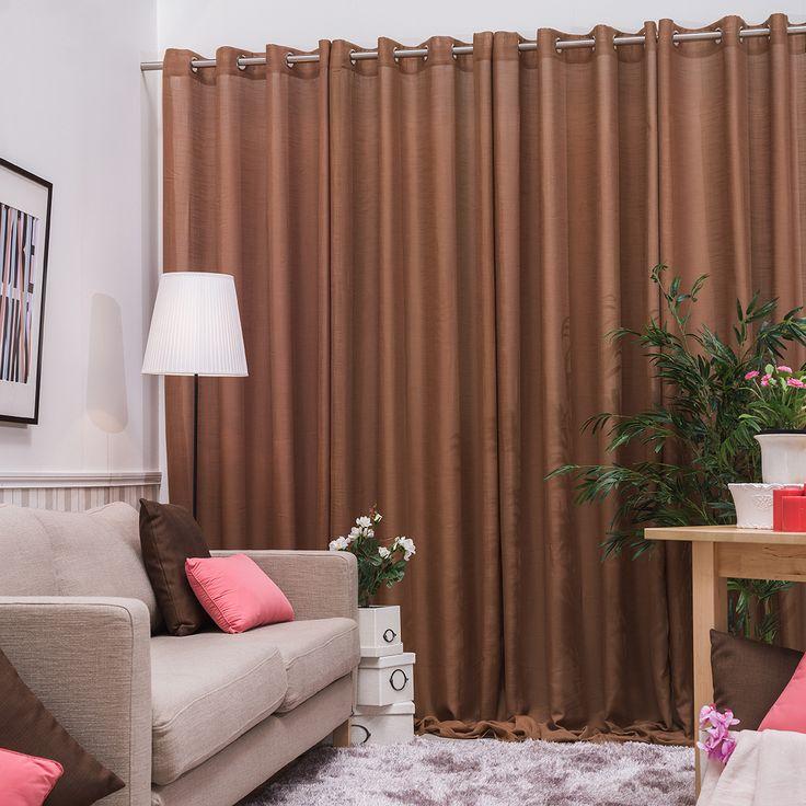 Las 25 mejores ideas sobre cortinas confeccionadas en for Cortinas visillo modernas