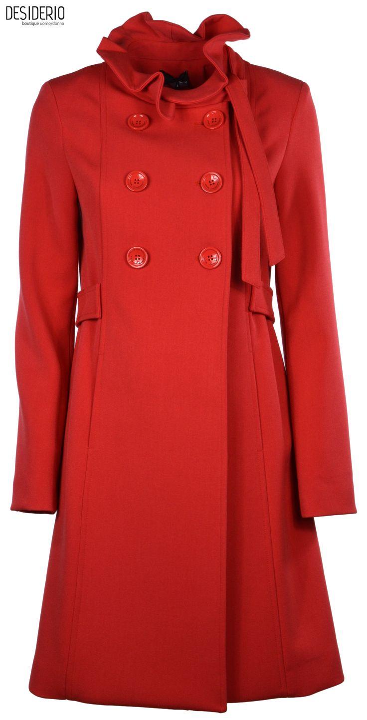 ATOS LOMBARDINI cappotto doppio petto rosso - DESIDERIO boutique - Shop Online: http://www.ebay.it/usr/desiderioboutique Abbigliamento uomo/donna Canosa di Puglia BT via J.F.Kennedy 31/33 tel. 0883 662 490 e-Mail info@boutiquedesiderio.com